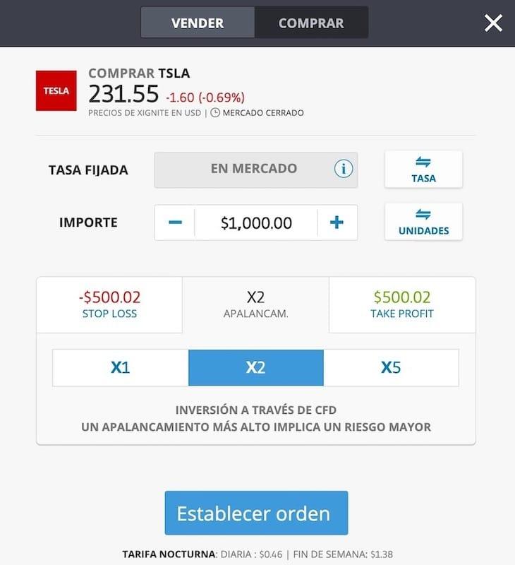 compra-accion-tesla-motors-apalancamiento-cfd